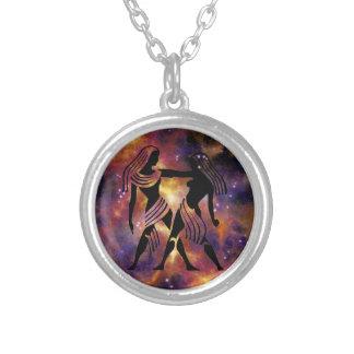 Collier de Gémeaux de zodiaque