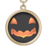 Collier de Halloween Jack-o'-lantern de collier de