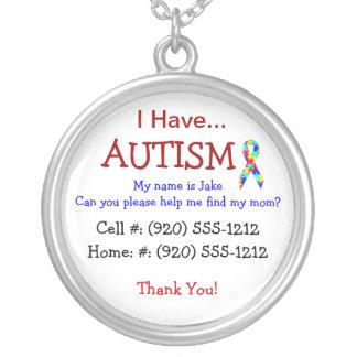 Collier de l'identification de l'enfant d'autisme