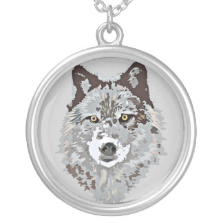 Collier de loup gris