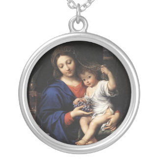 Collier de Madonna et d'enfant