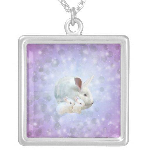 Collier de magie de lapin de Pâques