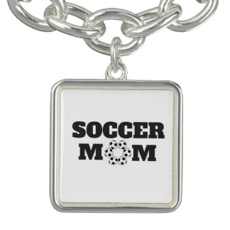 Collier de maman du football bracelets