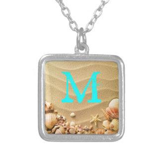 Collier de monogramme d Hawaï Reso de sable de