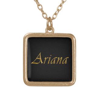 Collier de pendentif de cadeau Nom-Marqué par ARIA