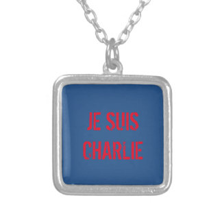 COLLIER DE PENDENTIF DE JE SUIS CHARLIE