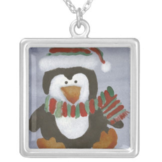 Collier de pingouin d'hiver