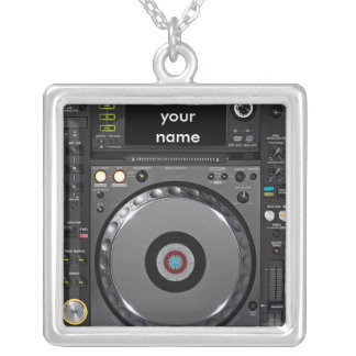 Collier de plaque tournante du DJ