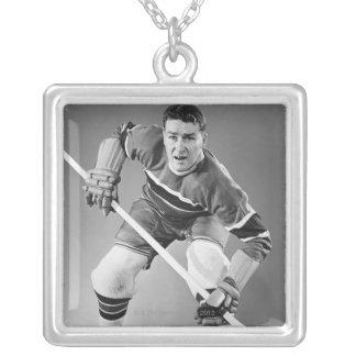 Collier Défenseur d'hockey