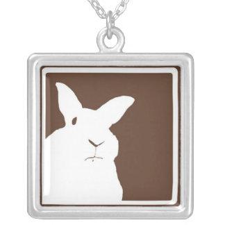 Collier désapprobateur de Brown de lapins