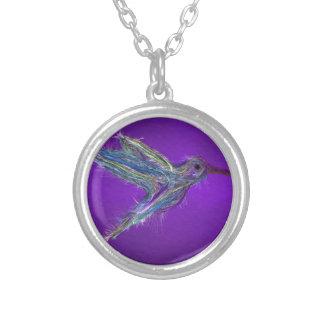 Collier Dessin de colibri