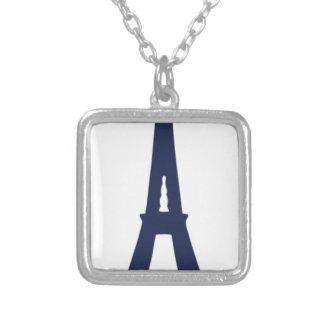 Collier Dessin de Tour Eiffel