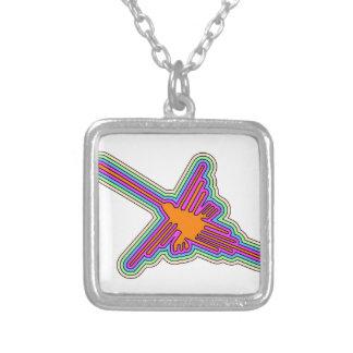 Collier Dessin du Pérou de colibri de Nazca