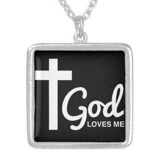 Collier Dieu aime moi et mes tatouages