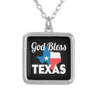 Collier Dieu bénissent le Texas
