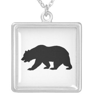 Collier d'ours gris