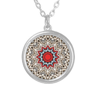 Collier Douze points de mandala