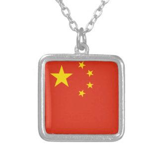 Collier Drapeau de la Chine