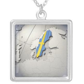 Collier Drapeau de la Suède