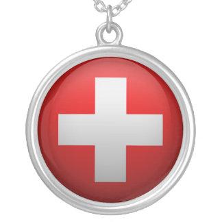 Collier Drapeau de la Suisse