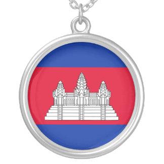 Collier Drapeau du Cambodge