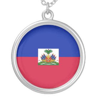 Collier Drapeau du Haïti