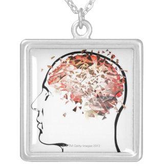 Collier Éclatement de cerveau