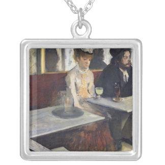 Collier Edgar Degas | dans un café, ou l'absinthe