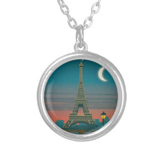Collier Eiffel Tower vintage Paris