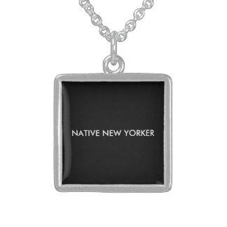Collier En Argent Newyorkais indigène