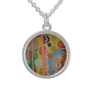 Collier En Argent Petit pendentif/collier d'argent sterling avec