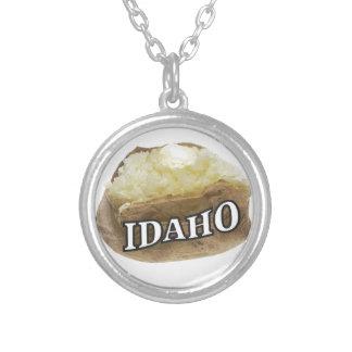 Collier Étiquette de pomme de terre de l'Idaho