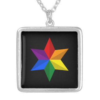 Collier Étoile de gay pride