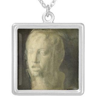 Collier Étude d'Edgar Degas | de la tête d'un jeune