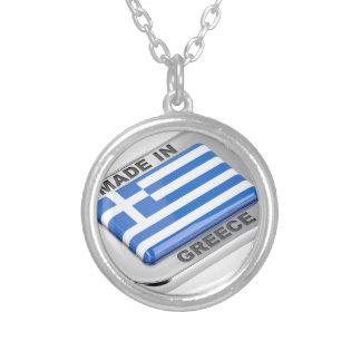 Collier Fait dans l'insigne de la Grèce