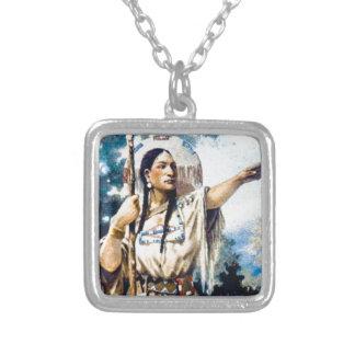 Collier femme indienne de squaw