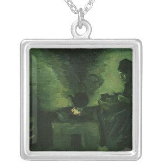 Collier Femme rurale de Vincent van Gogh | par le foyer