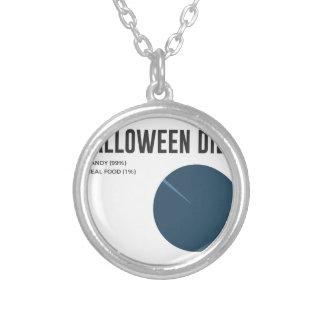 Collier Festins de bonbons à régime de Halloween et