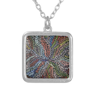 Collier Feuille multicolore de médecine de buisson