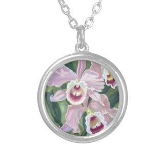 Collier Fleur d'orchidée