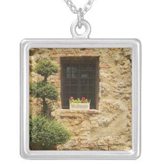 Collier Fleurs dans une boîte de fenêtre sur un
