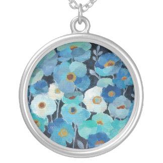 Collier Fleurs d'indigo