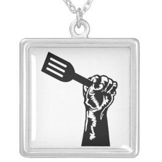 Collier fourchette noire