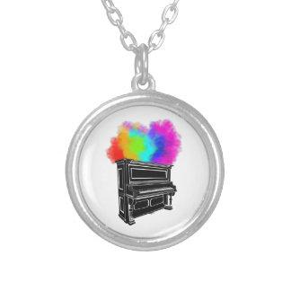 Collier Fumée colorée de piano