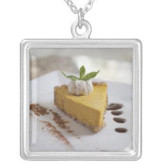 Collier Gâteau au fromage de citrouille