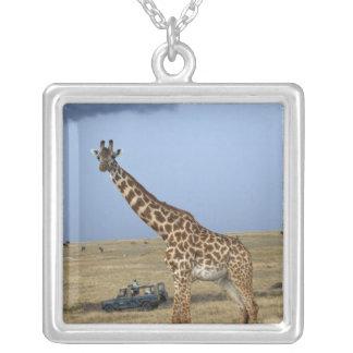 Collier Girafe de observation de masai de safari