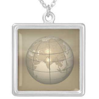 Collier globe 3D