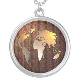 Collier Globe vintage