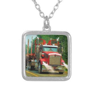 Collier Grand art de camion et de route pour des