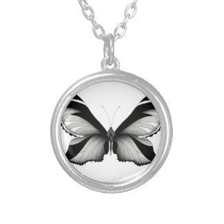 Collier Grand papillon de sauge de champ